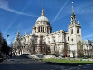 London's St Pauls Cathedral